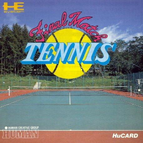 [PC Engine] Final Match Tennis Finalmatchtennis